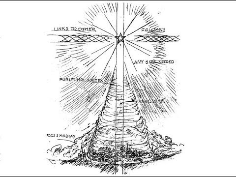 BC with pillars of Light radiating from 5 Pointed Star.