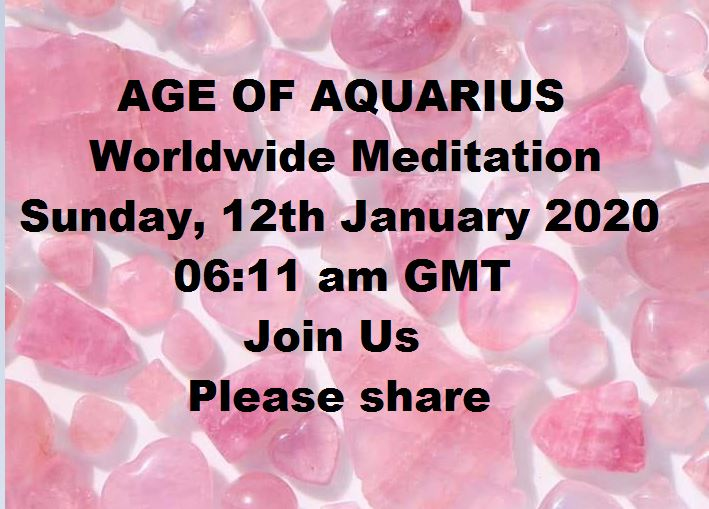 Images for circulation about Age of Aquarius Meditation GMT