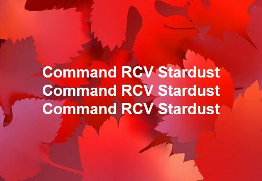 Protocol: Command RCV Stardust Command RCV Stardust Command RCV Stardust